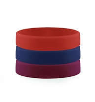 Multicolor ActiveWear Slim Silicone Sport Replacement Bands