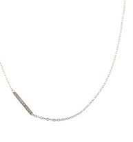 """Stainless steel 20"""" flat oval chain to be used as a replacement necklace for select pendants"""